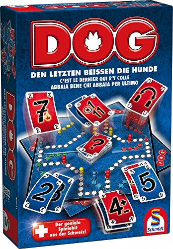 Schmidt spel 49201 dog, de laatste bijten de honden, familiespel, kleurrijk