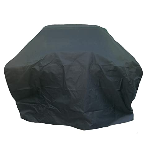 Charles Bentley Universal Fully Waterproof Gas Charcoal Premium Bbq Cover Polyester Canvas Large 4-6 Burner