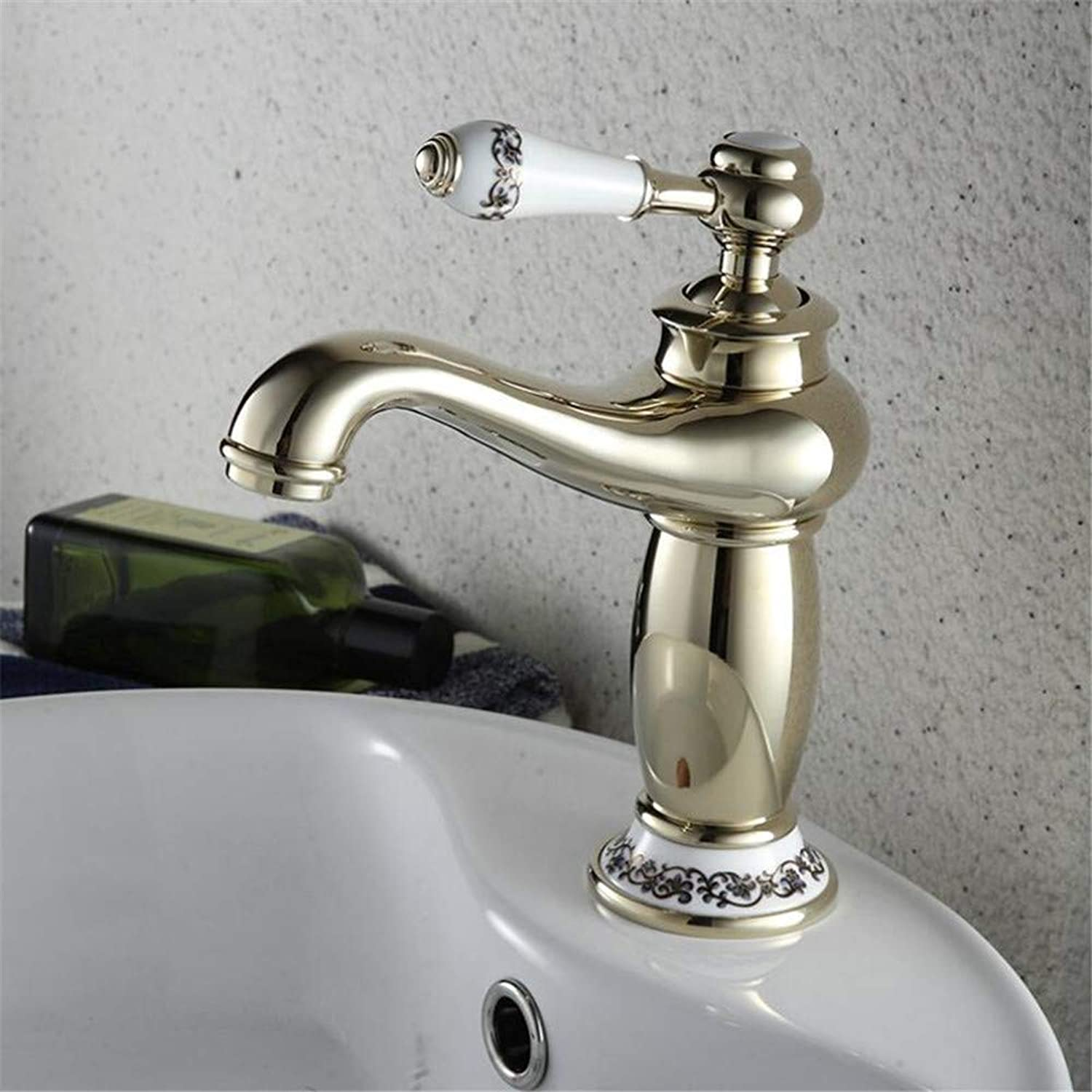 360° redating Faucet Retro Faucetbasin Mixer Tap Fashion Classic Faucet Hot and Cold Copper European Retro Faucet