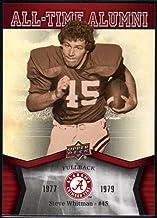 Best Football NFL 2012 Upper Deck University of Alabama All Time Alumni #ATASW Steve Whitman Review