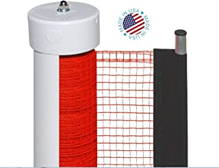 Kidkusion Retractable Driveway Guard, Orange, 20' | Driveway Safety; Outdoor; Barrier; Adjustable