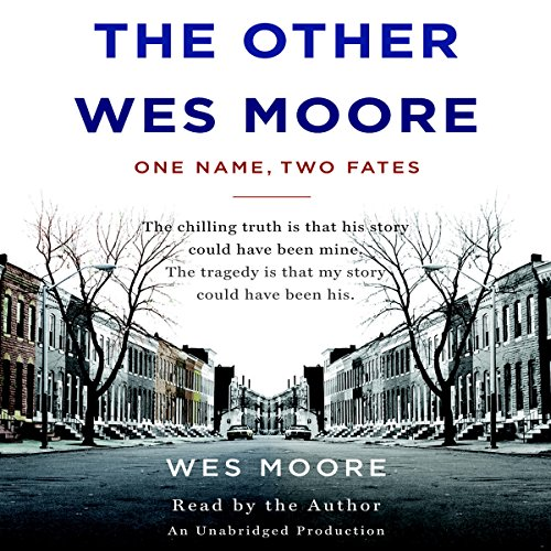 The Other Wes Moore audiobook cover art