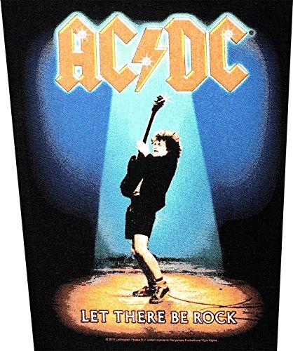 AC/DC dos Badges Let There Be Rock Back Patch écusson