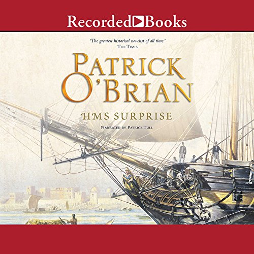 H.M.S. Surprise audiobook cover art