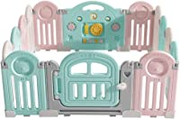 Baby Fence Folding Children's Play Fence Baby Safe Home Crawling Baby Toddler Shatter-Resistant Protective Fence
