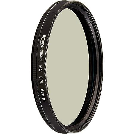 Amazon Basics Circular Polarizer Camera Lens Filter - 67 mm