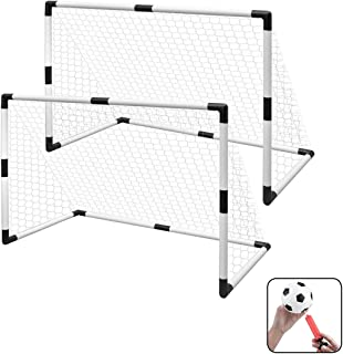 Kids Soccer goals with Ball and pump, set of 2