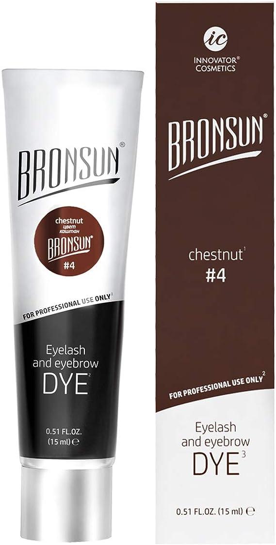 Tinte para cejas y pestañas para colorear – Instant Eyebrows and Lashes colores de larga duración 15 ml