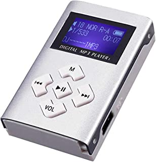 Mini MP3 Player LCD MP3 Player Durable Alloy Relax Driving