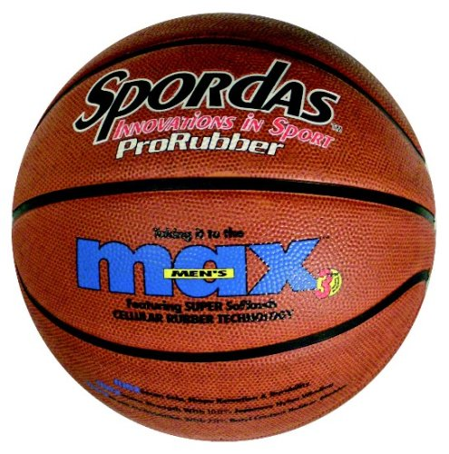 Spordas Nottingham Rehab Supplies Max Pallone da Basket Taglia 5