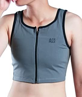 DOUBLE DESIGN Air Max Zipper Half Length Chest Binder