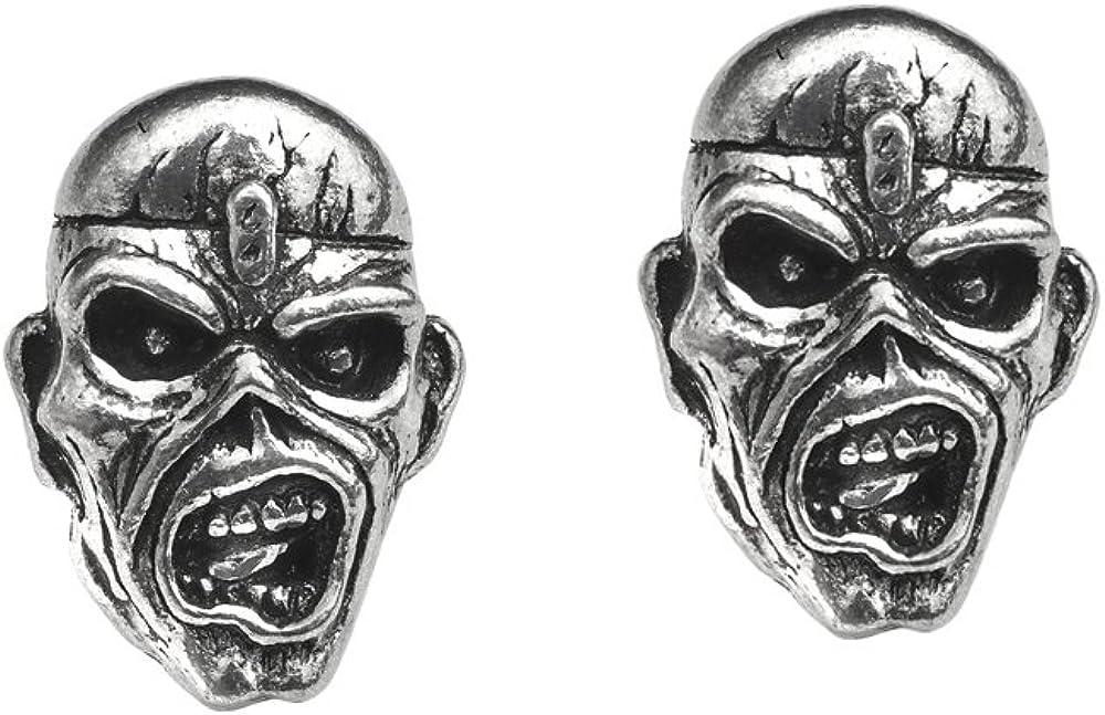 Officially Licensed Piece of Mind Eddie Stud Earrings