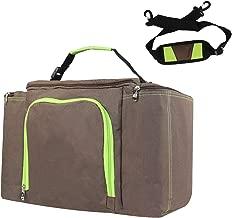 LemonGirl 25 L Canvas Big Capacity Cooler Insulated Lunch Bag for Men Women Travel Picnic
