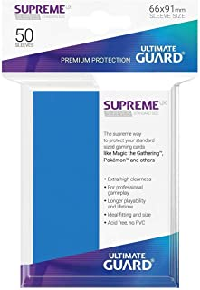 Ultimate Guard UGD010798 Supreme UX Card Sleeves, Standard, Royal Blue