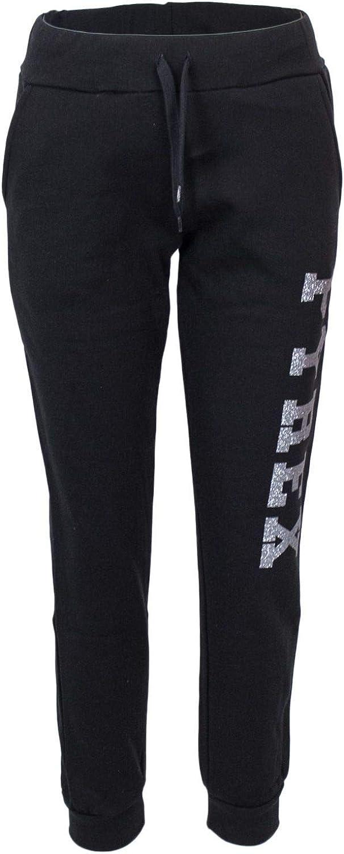 Pyrex Women's 34237BLACK Black Cotton Joggers