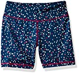 Amazon Essentials - Pantalones cortos deportivos elásticos para niña, Confeti, US 2T (EU 92-98)