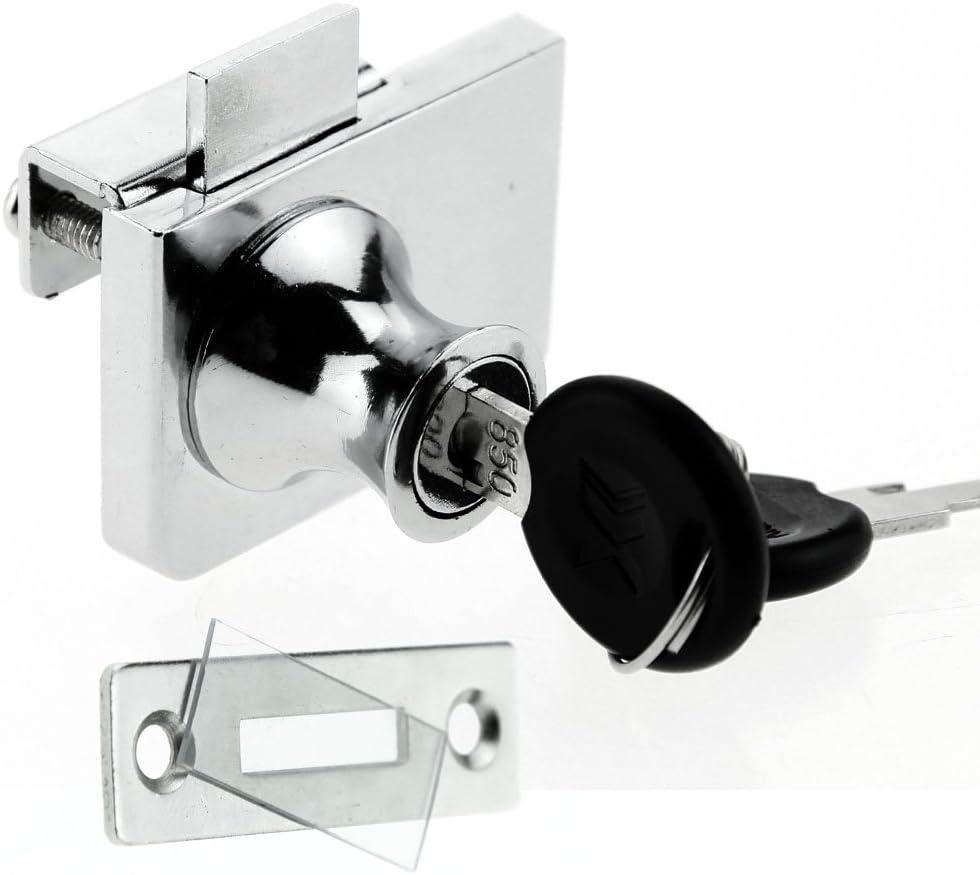 Glas Pflicht Schrank Lock aufklappbaren Glas Vitrinen NEU für IKEA detolf  Argos