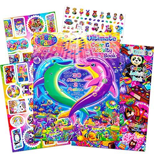 Original Version SG/_B01DAK2WOS/_US Lisa Frank Over 600 Stickers