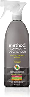 Method Heavy Duty Degreaser, Oven Cleaner and Stove Top Cleaner, Lemongrass, 28 Ounce (8 Count)