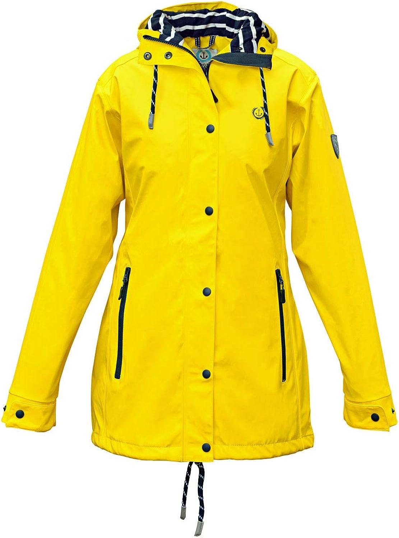 Damen Regenmantel gelb wasserdicht Friesennerz MADSea