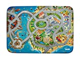 Spielteppich Ultrasoft - Rutschfest 100 x 150 cm (Stadt und Meer)