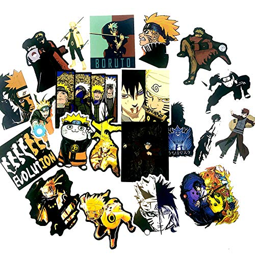 AXHZL New Handsome Naruto Graffiti Toy Sticker Forscrapbook Refrigerator Game Machine Skateboard Motorcycle Guitar Luggage 50/PCS
