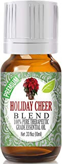 Holiday Cheer Blend Essential Oil - 100% Pure Therapeutic Grade Holiday Cheer Blend Oil - 10ml