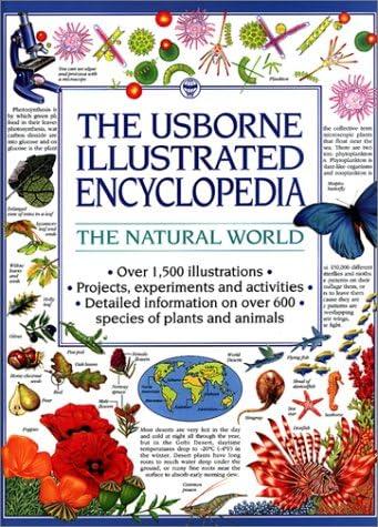 The Natural World The Usborne Illustrated Encyclopedia product image