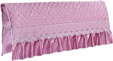 Prettyia Dustproof Stretch Wood Leather Bed Headboard Cover Protector Slipcover,3 Sizes - as described, 180cm