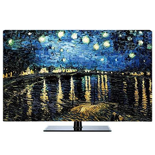 LICCC Paresseuse Swing Pare-poussière TV Dust Cover Multi-Taille Ensembles TV Hanging poussière Tissu (Color : C, Size : 40\