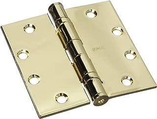 Stanley Hardware S060-005 FBB179 Ball-Bearing Hinge in Bright Brass