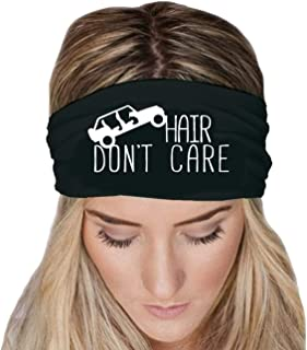 Hair Don't Care Wide Headband New Design