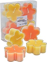 Horizon Candle Flower Shape Tealights Candle 4 pieces