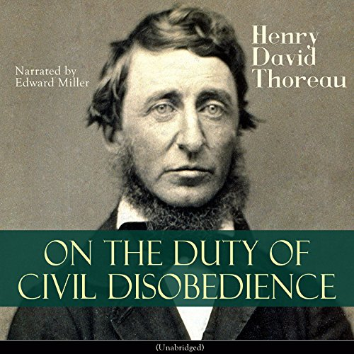 On the Duty of Civil Disobedience Audiobook By Henry David Thoreau cover art