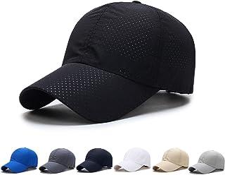 キャップ 帽子 野球帽 メッシュキャップ スポーツ帽子 日除け UVカット紫外線対策 速乾 軽薄 無地 メッシュ帽 登山 釣り ゴルフ 運転 アウトドアなどに 男女兼用