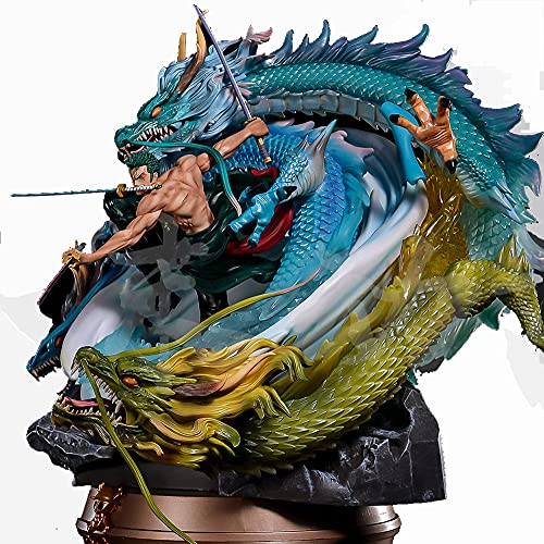 SZSBLT Modelo de Juguete para Adultos, Modelo de Anime, Tres Espadas, Modelo Pirata Grande, Modelo súper Grande
