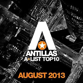 Antillas A-List Top 10 - August 2013