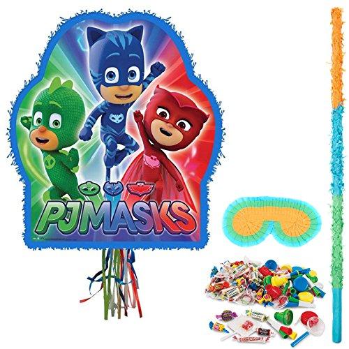BirthdayExpress PJ Masks Party Pinata Kit With Filler and Stick