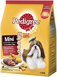PEDIGREE Dry MINI Beef Lamb & Vegetable 1.5Kg