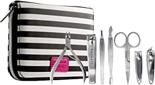 Sephora Collection Tough As Nails Deluxe Manicure Kit(Nipper, Clipper, Scissors, Pusher, Toe Nail Clipper, Cuticle Trimmer, Angled Nail Clipper), 7-PC Set
