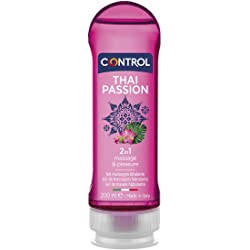 Control Thai Passion Gel de Masaje Corporal - 200 ml
