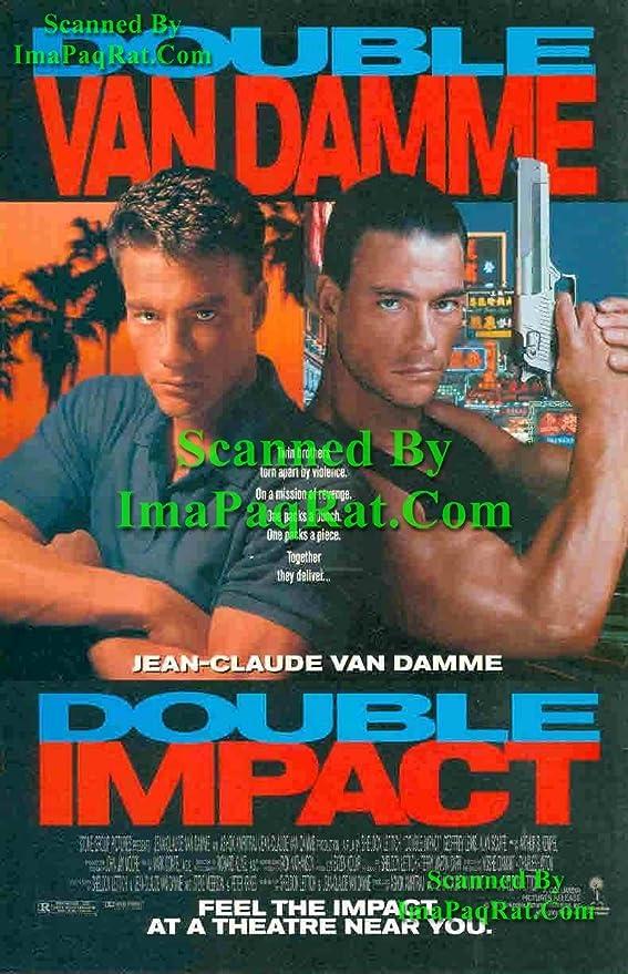 Amazon Com Doble Impacto Van Damme Jean Claude Van Damme Gran Pelicula Original Photo Print Ad Hogar Y Cocina
