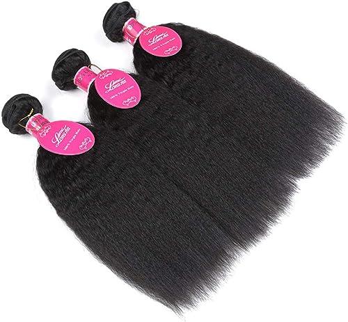 últimos estilos MNVOA Pelo humano ondulado 3 paquetes de pelo peruano peruano peruano extensiones de trama de tejido de Color natural  servicio de primera clase