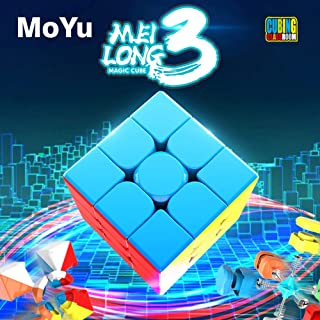 MoYu Cubing Classroom Mofang jiaoshi Meilong 3 3x3 3層マジックキューブMFJS 3×3×3キューブステッカーレス(Stickerless シールレス)