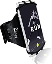 Revere Sport Universal iPhone Running Armband (X/XS/XR/11/10/8/7/6/SE/Plus/Max/Pro). Phone Holder Case