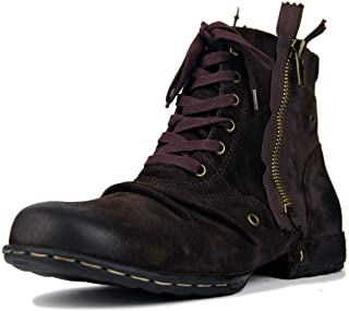 Suetar Men's Fashion Leather Martin Boots for Autumn and Winter LB5008-8