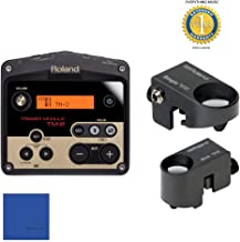 Roland TM2 Trigger Module with Roland RT-30K Acoustic Drum Trigger & Roland RT-30H Trigger Bundle with 1 Year Free Extended WarrantyandMicrofiber