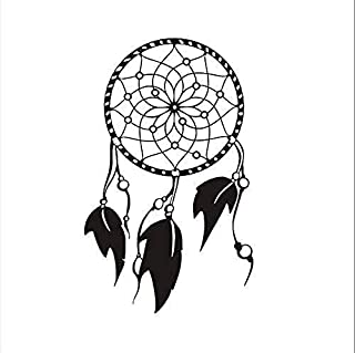 ZYZSLM Wall Sticker India Traditional Religion Dream Catcher Wall Sticker Cartoon Dream Catcher Beautiful Wall Decal 81X53Cm