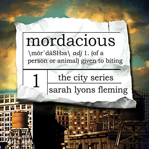 Mordacious audiobook cover art