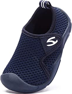 INMINPIN Chaussons de Maison Enfants Pantoufle d'intérieur Bébé Fille Garçon Chaussures Premier Pas Souple Confort Chaussu...